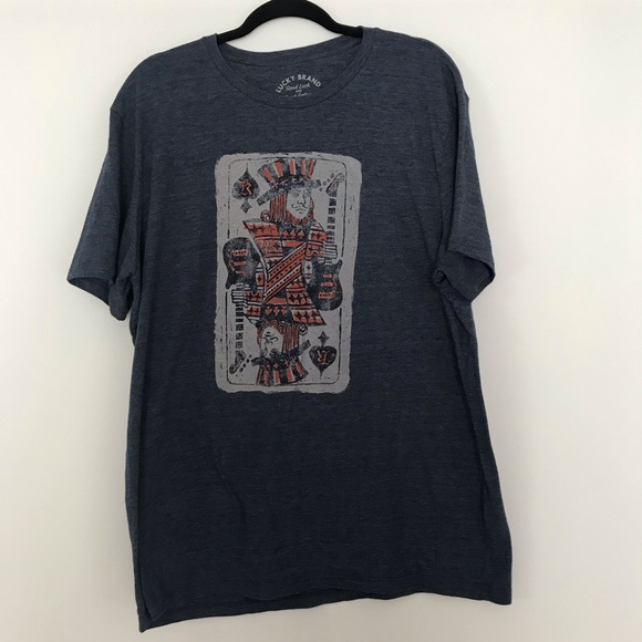 Lucky Brand Other - Lucky Brand King of Spades Graphic T-Shirt